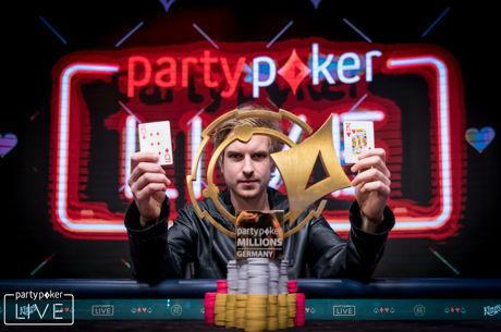 【6upoker】Viktor Blom取得Partypoker百万赛事德国站主赛胜利