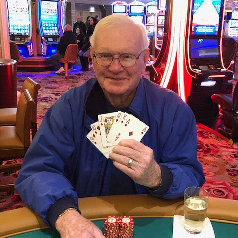 【6upoker】85岁老人五美元下注赢得百万大奖