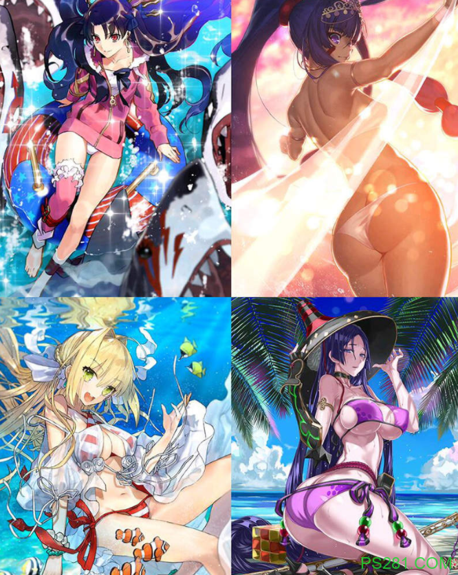 【6upoker】繁中文版《Fate/Grand Order(FGO)》复刻活动 清凉泳装超养眼