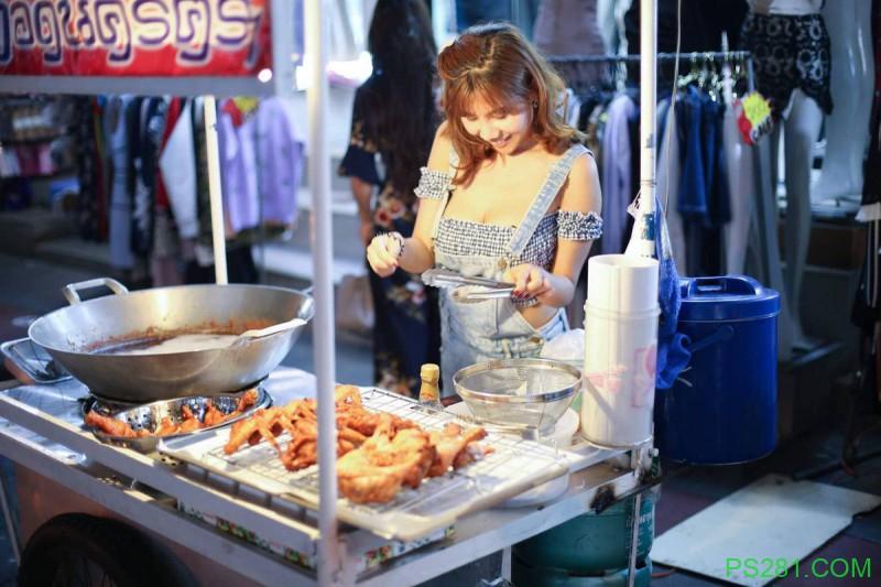 【6upoker】泰国卖肉老板娘《Dj Ping Ping》,身前霸气让人口水直落!