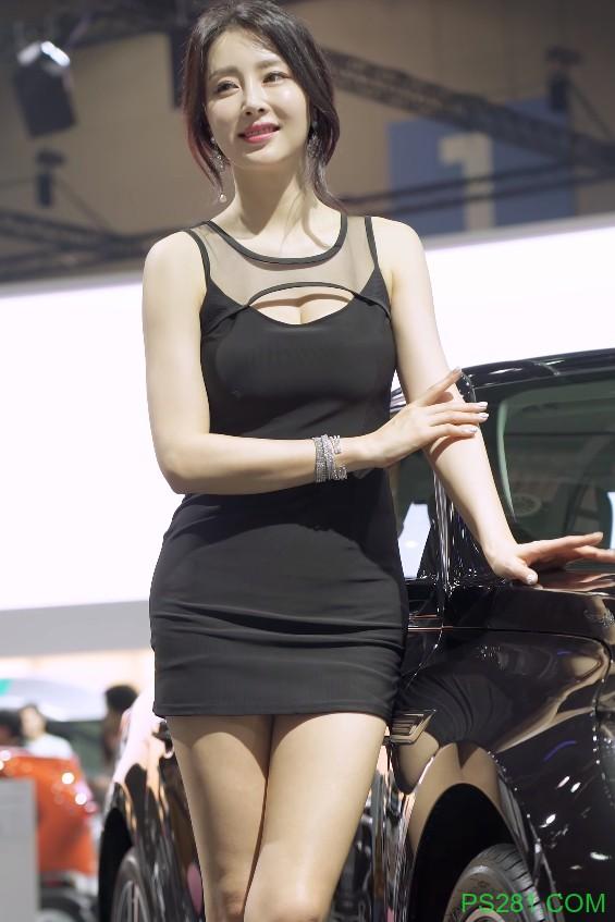 【6upoker】韩国车模은빈EunBin(恩彬)车展性感饭拍20200308