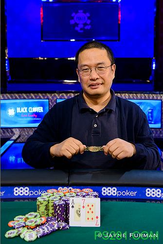 【6upoker】前人人网副总裁杜悦首夺中国籍选手WSOP第一条金手链