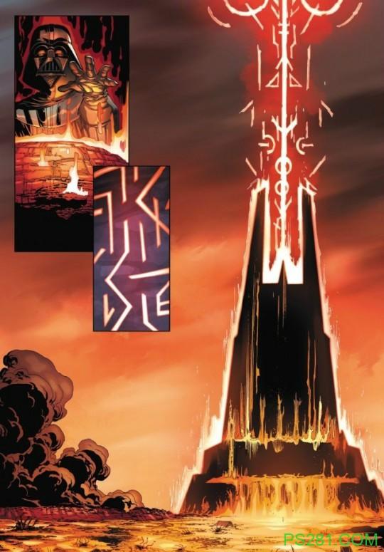 【6upoker】迪斯尼最新漫画设定 安纳金·天行者是白卜庭皇帝儿子吗